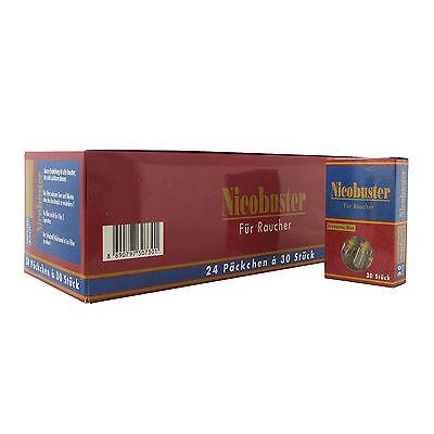 Nicobuster Microfilter als Zigarettenspitze Original Karton mit 720 Stück