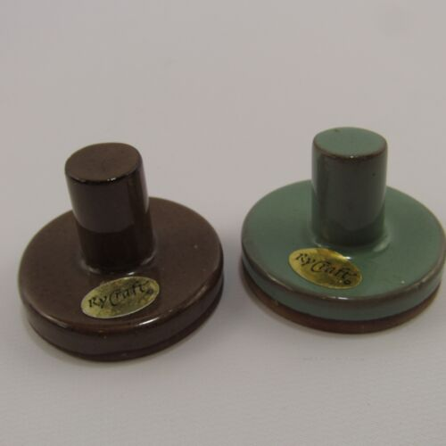 RyCraft Cookie Stamp Lot of 2 Stoneware Stamps Duck & Treble Clef