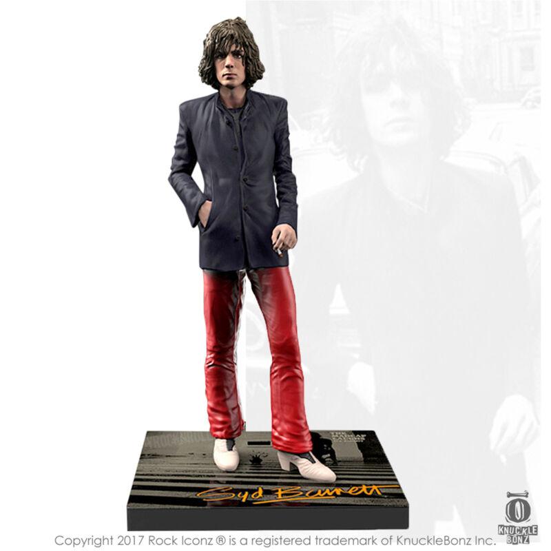 Pink Floyd Collectible 2017 KnuckleBonz Rock Iconz Syd Barrett Statue Figure