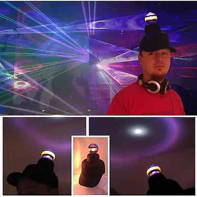 Disco Ball Hat Party Cap Cosplay Batchelor Buck DJ Fun Halloween Christmas