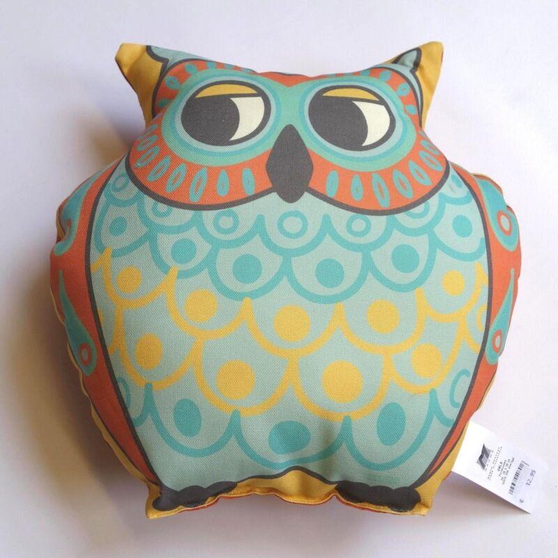 Kissen OWLS - EULEN 3 Varianten wählbar Magma Dekokissen NEU 036 rund smaragd 35x35 cm
