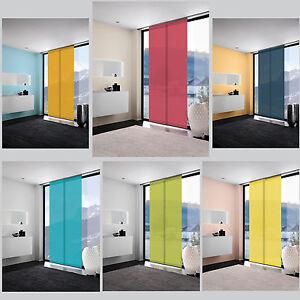 basique rideau coulissant panneau s paration de pi ce mydeco livre heister ebay. Black Bedroom Furniture Sets. Home Design Ideas