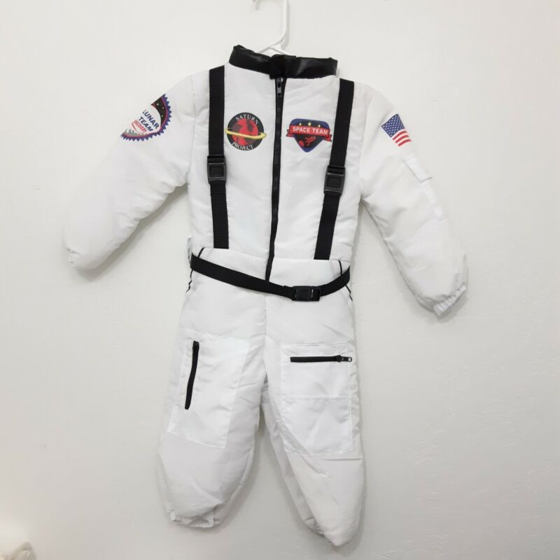 Astronaut Costume for kids  4-5 I want to be new Halloween