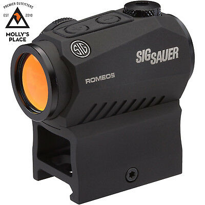 Sig Sauer Sor52001  Romeo 5 1X20mm 2 Moa Red Dot Sight W  Mounts