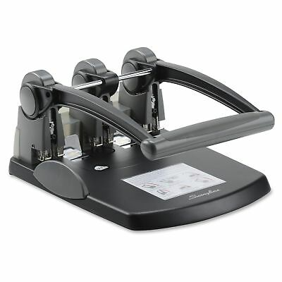 Swingline Extra High Capacity 3-hole Punch - 3 Punch Heads - 300 Swi74194