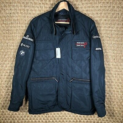 Rare Vintage Alain Figaret Le Mans Classics BMW Optic 2000 Motul Racing Jacket S for sale  Shipping to India