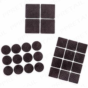 28 x FLOOR PROTECTOR FOAM PADS Small-Large Square/Round Chair Table Leg Feet