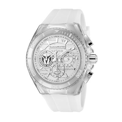 Technomarine TM-118130 Cruise Women's 40mm Chronograph Steel Silver Dial Watch