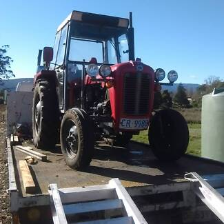 wanted old tractor. must start and stop