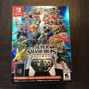 Smash Bros Ultimate - Limited Edition Release