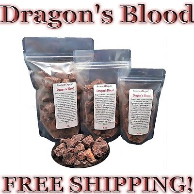 (Dragons Blood Ganular Incense 100% Pure Natural Daemonorops Purification Love)