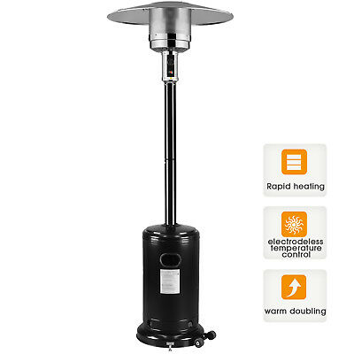 Commercial Patio Garden Outdoor Heater Stainless Steel 48,000 BTU