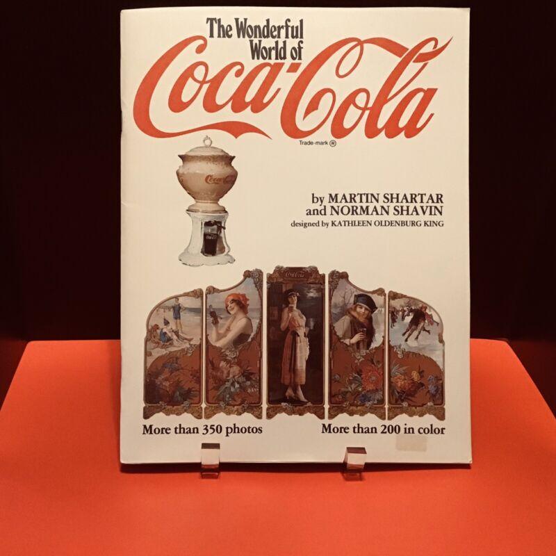 THE WONDERFUL WORLD OF COCA COLA BOOK