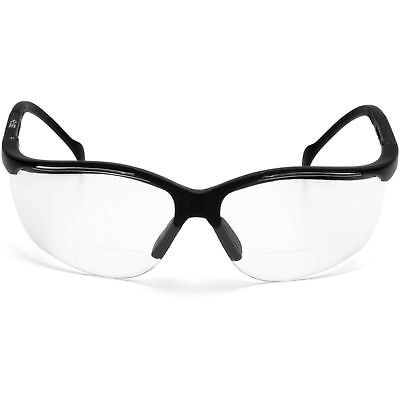 Pyramex Venture Ii Readers Safety Glasses With Clear 1.5 Bifocal Lens