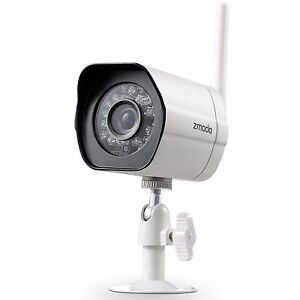 Zmodo 720p HD Wireless Network Outdoor Home Security Camera W/ IR Night Vision
