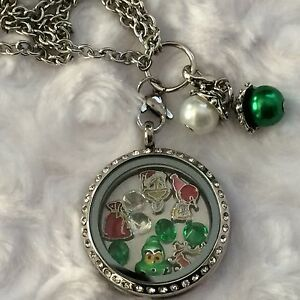 How-The-Grinch-Stole-Christmas-Inspired-Memory-Locket-Necklace-Dr ...