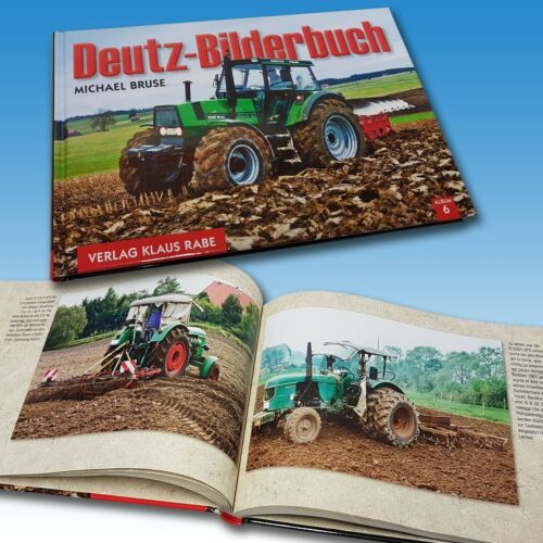 Deutz Bilderbuch mit Text zum Bild Traktor Schlepper Oldtimer  Foto 1