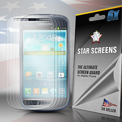 6x Clear Screen Protector Film Guard for Samsung Galaxy S III S3 Mini i8190 - Mini I8190 Screen Protector
