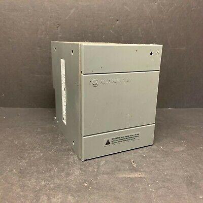 Allen Bradley 1746-p4 1746p4 Slc 500 Power Supply Rack Chassis Ac Good Door Plc