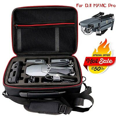 For DJI Mavic Pro Drone Parts Accessories Shoulder Bag Portable Carrying Case
