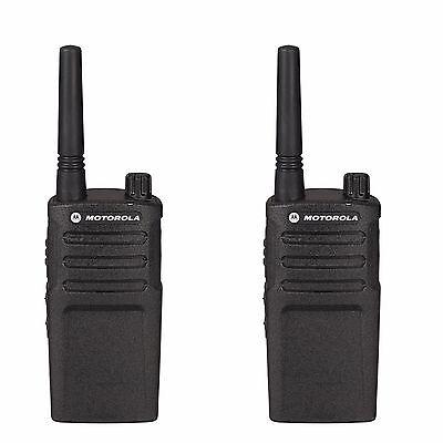 2 Motorola Rmu2040 2 Watt Uhf Business Two-way Radios.