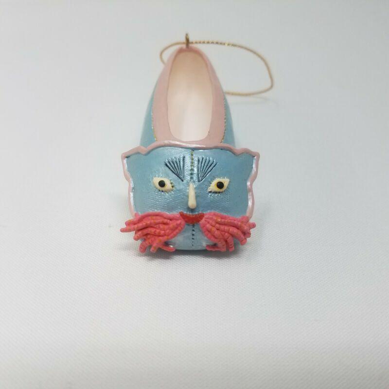 Vintage Cat Slipper Shoe Christmas Ornament MMA Metropolitan Museum of Art