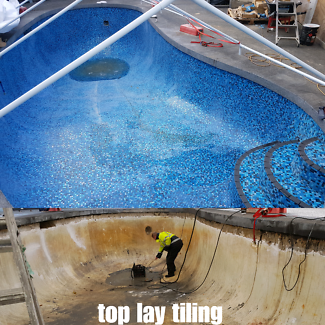 DOMESTIC AND COMMERCIAL POOL TILER