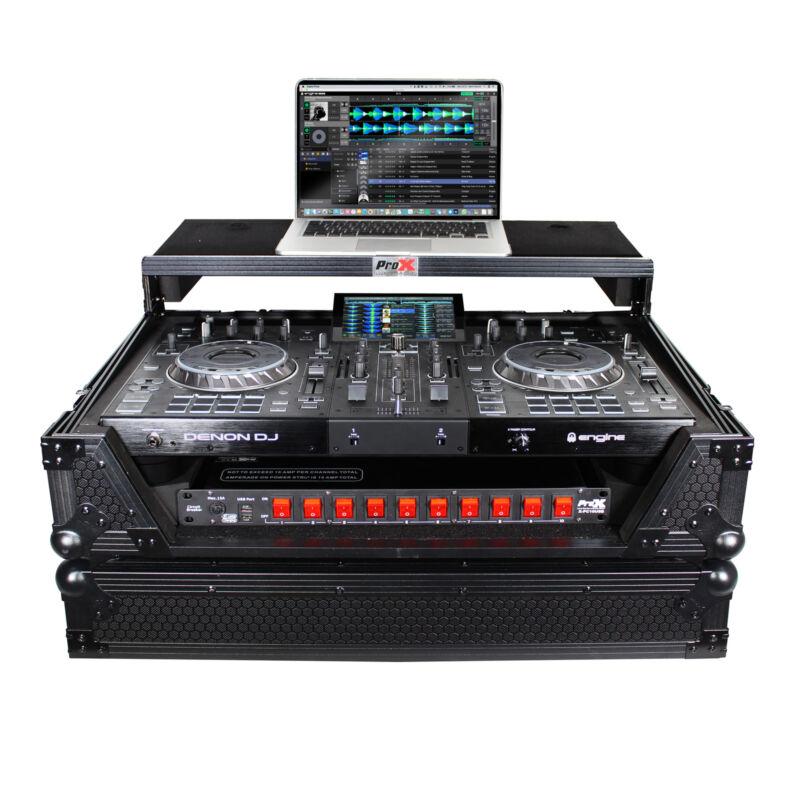 Pro X Flight Case for Denon Prime 2 Standalone DJ System | Black on Black
