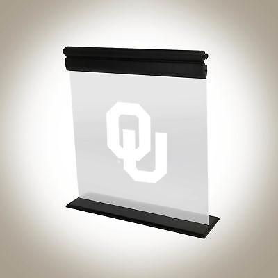 OKLAHOMA SOONERS ACRYLIC LED SIGN LIGHT LAMP UNIVERSITY MAN CAVE GAME OFFICE - Oklahoma Led Sign