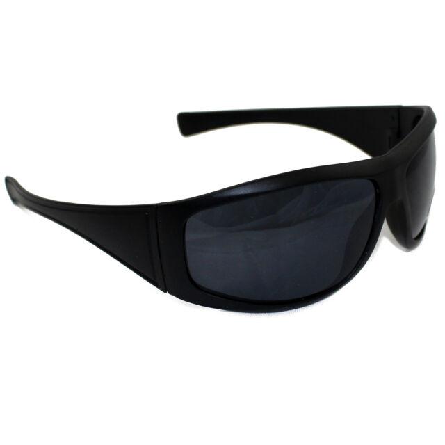 sunglasses running zibg  MENS WOMENS UNISEX BLACK SUNGLASSES WRAP AROUND SPORT SKIING BIKER MODERN  STYLE