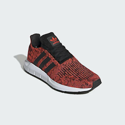 Adidas Swift Mens Lightweight Running Shoes SOLAR RED UK SIZE 11