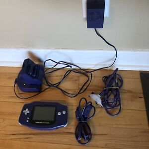 Indigo Gameboy Advance with extras