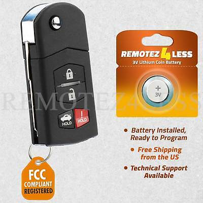 Keyless Entry Remote for 2005 2006 2007 2008 Mazda 6 Sedan Car Key Fob Control