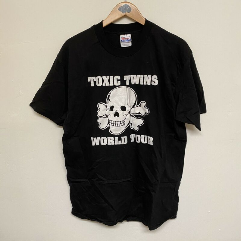 Aerosmith Vintage Original 1993 Large Toxic Twins World Tour T-Shirt