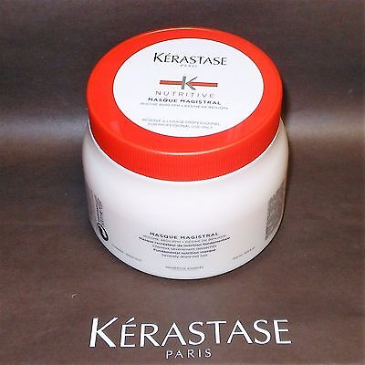 KERASTASE NUTRITIVE MASK MAGISTRAL MASQUE 500ml/16.9 fl.oz. PROFESSIONAL SIZE!!