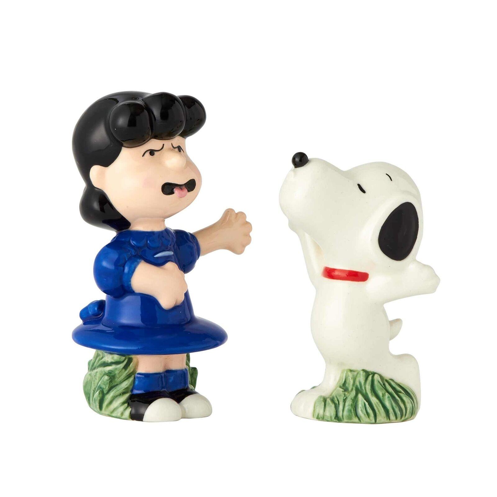 Enesco Peanuts Ceramics Charlie Brown and Linus