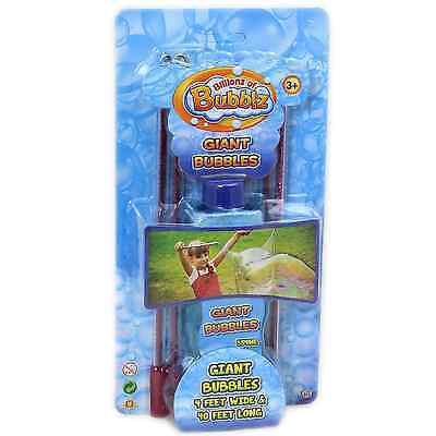 Fun Kit Magic Enormous Huge Bubbles Xmas Gift Outdoor Toy (Bubble Kit)