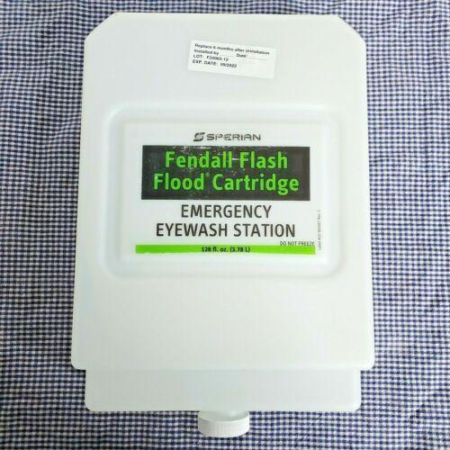 Sperian Fendall Flash Flood Eyewash Station Refill Cartridge 1 Gallon Exp 9/2022