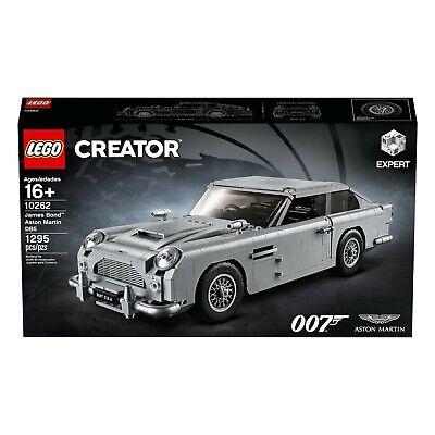 Lego Creator James Bond 007 Aston Martin DB5 Set 10262 Brand new Hard To Find