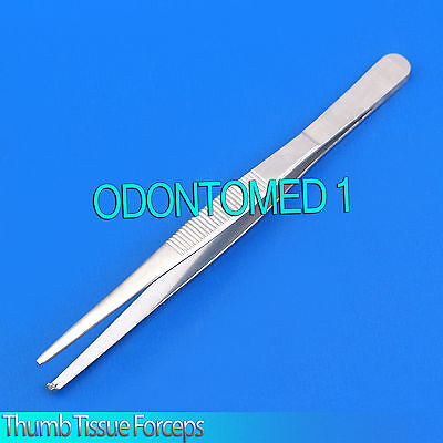 12 Thumb Rat Tooth Tissue Forceps 1x2t 5.5 Surgical Instruments