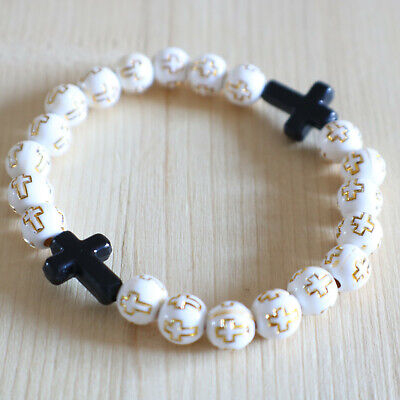 Serpentine and Agate Beads Bracelet and Rosary chain beads bracelet with Antique metal beads .