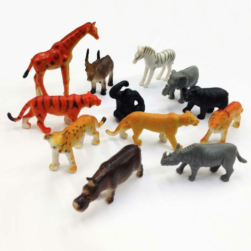 Toys For Animals : Plastic zoo animals ebay