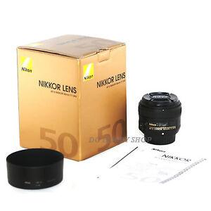 Nikon af s 50mm f 1 8g nikkor 50 mm 1 8 f1 8 g objectif for Objectif a miroir pour nikon