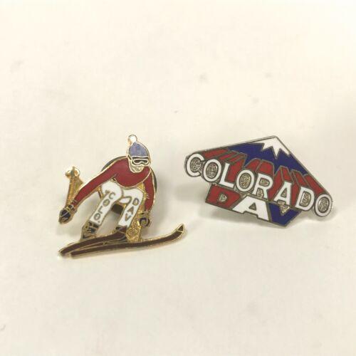Colorado DAV Disable American Veterans Mountain-Skier Skiing Pins Lot