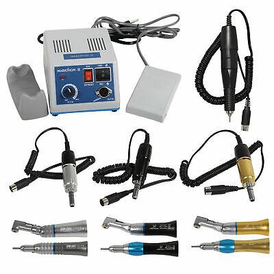 Dental Lab Marathon Electric Micromotor 35k Rpm Handpiece Contra Anglestraight