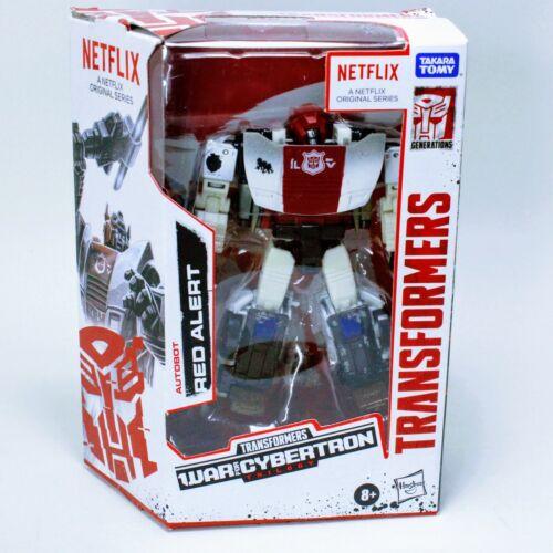 "Transformers Netflix Red Alert - War for Cybertron Trilogy 6"" Action Figure"