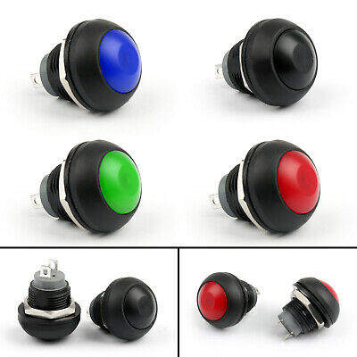 Mini 12mm Waterproof Momentary Onoff Push Button Round Switch For Carboat Ss