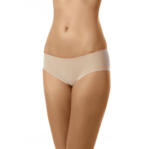 Unterwäsche Damen Slip Dessous Transparent Mesh Glatt Panty Laserschnitt S – XL