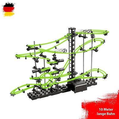 lbahn,Konstruktions-Set mit 10 Meter Länge, Lvl 2,Space-Rail (Kugelbahn Set)
