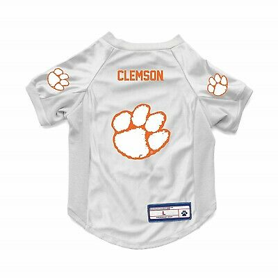 Clemson Tigers Dog Jersey - NEW CLEMSON TIGERS DOG CAT DELUXE STRETCH JERSEY
